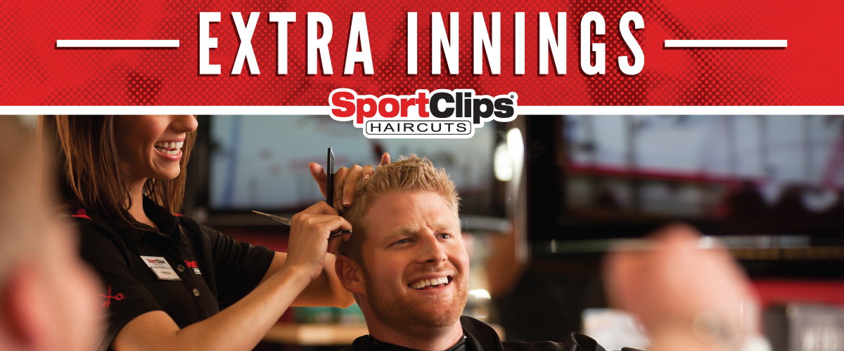 The Sport Clips Haircuts of Waterford Lakes Town Center Extra Innings Offerings