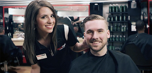 Sport Clips Haircuts of Waterford Lakes Town Center​ stylist hair cut